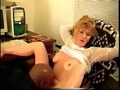 Hot Blonde Wife Bangs Guy