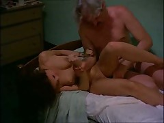 Fucked by Old Man in Bedroom