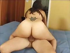 Sticky Cream Fuck For Latina Centerfold Madaline