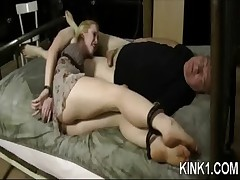 Babe Bent In Half By Bondage