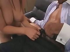 Pounded Asian Nurse