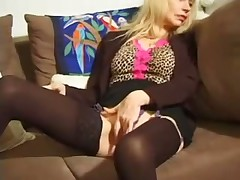 Cougar with young hard cock