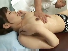 Massage play with Asuka Ayanami