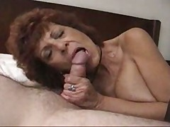 Crimson Rose knows what to do with his cock
