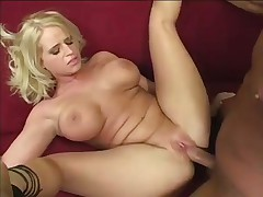Blond With Camel Toe Gets Fucked