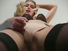 Sexy Blonde Heather Vandeven Teases You