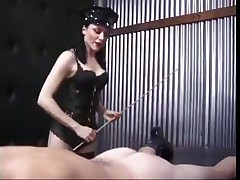Tasty Dark hair In Latex Straitjacket