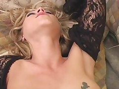 Big Black Dick Dives In A Hot White Milf Pussy