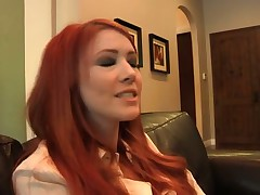Redhead Elle Alexandra Has Lesbian Fun With Sovere