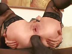 Maya Black Dick Anal Creampie