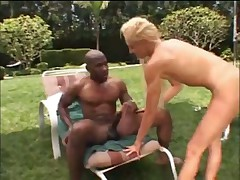 Naomi interracial outdoor fuck