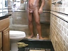 Anderson Shower Handjob