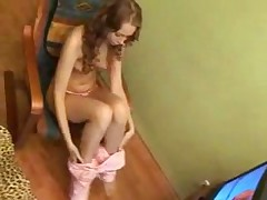 A Spicy Teen Plays With Herself