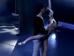Naked asian ballet