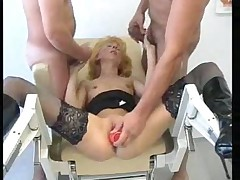 Mature German threesome