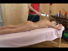 Hot amateur massage