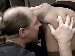 Ebony slut fucked by trucker