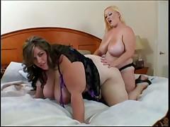 Sexy BBW Lesbians