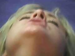 Hot blonde lesbian