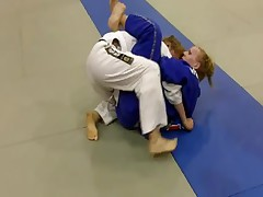 2nd Southwest BJJ Classic Jenni Monroe vs Carrie Lipnick FOR THE GOLD!!!