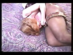 Wife Threesome by 2 black cock