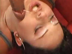 Lorena Aquino Gets Cum On Ass