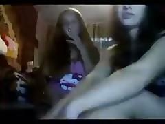 Two russian girls tease you