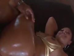 Melody Nakai oiled up