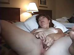 Tish Alone in Hotel Room