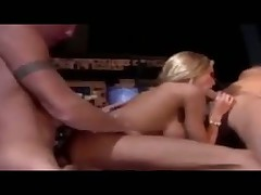 Briana Banks threesome on a plane