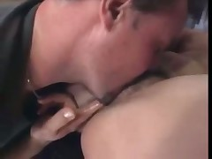 Cindy play with hairy pussy
