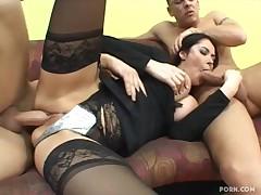 Sexy Milf Eva Karera Works Hard For Her Money