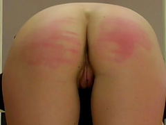 Stunning babe is getting spanked so hard