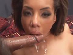 Fake tits ebony girl hardcore sex