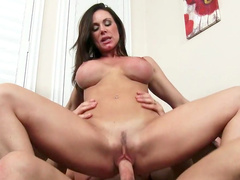 Big tits milf craves for married guy's dick