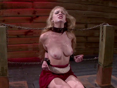 Beauty was tied and fucked with force