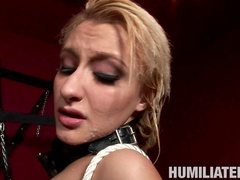 Sweet Mallory Rae Murphy in the hardcore BDSM scene