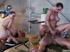 Pornstar foursome stars big tits bitches
