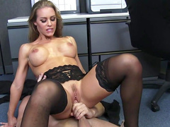 Office hardcore along sensual Nicole Aniston