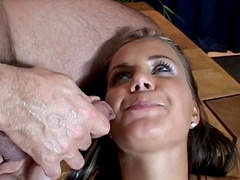 Shira fuck with Marco in her creamy pussy