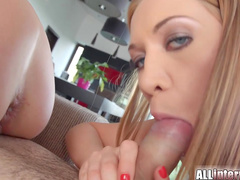 Lindsey and Nataly are fucking in anal holes in close-up