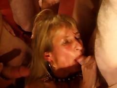 SpermAnneke Bukkake Gangbang cum orgie 11