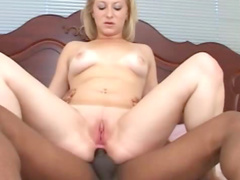 Sexual Zoie is having anal sex with her black bf