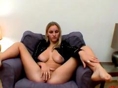 Simella demonstrates her long slender legs