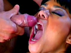 Dana Vespoli gets load of tasty jizz by Steven French