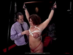 Sweet tied babe being humiliated