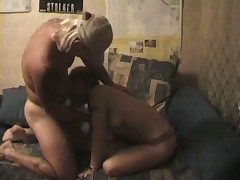 Couple fucking in bed
