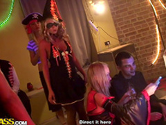 Insane student sex party with hardcore babes