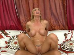 Blonde Tanya Tate is banging with big dicks