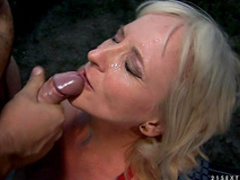 Sexy mature anal sex outdoors